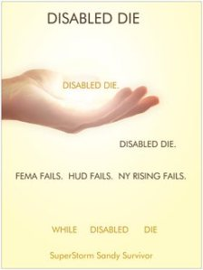 Disabled poster